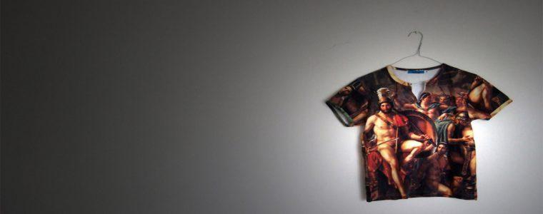 Online shop offering custom design on cloths