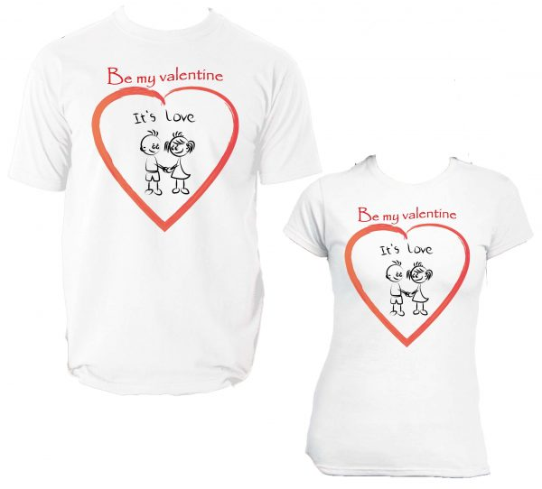 Be my valentine It's love